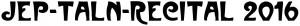 Logo TALN 2016